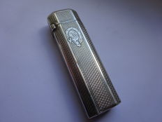 Beautiful antique pyrogen lighter - silver-plated - c. 1920