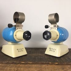 Two Kinga-Baby projectors magic lantern from the 50s