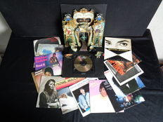 Michael Jackson - Dangerous Special Limited Edition 1991 Gold CD and 13 x Vinyl 7""
