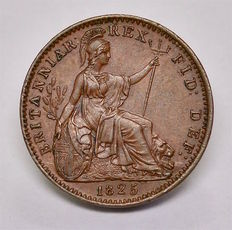 United Kingdom - Farthing 1825 George IV