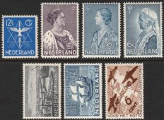 The Netherlands 1934/1935 – Five complete issues