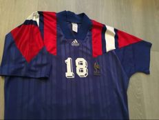 France Home Shirt - European Championships 1992 - Legend Cantona 18.