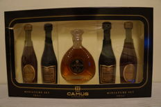 A Full Cognac Camus Miniature Gift Set, Even the Gift Box Is Unopened (Sealed)
