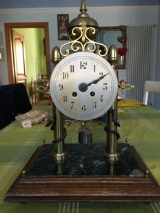 French portico timepiece - 1880