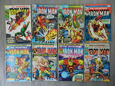 The Invincible Iron Man Vol.1  86 issues + 1 Annual - 86x sc - (1969 / 1987)