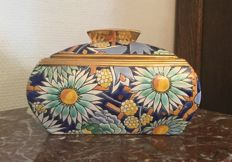 Raymond Chevallier for Boch Frères - Art Deco pottery sweetmeat box