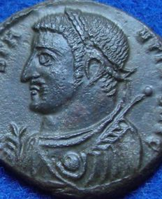 Roman Empire - Follis of Constantine the Great (307-337 A.D.) - minted in Cyzicus (P479).