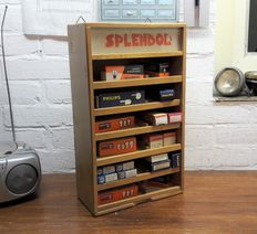 Old Splendor lamp cabinet for moped and bicycle lights - ca. 1970