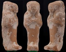 Egyptian clay Shabti - ca. 9,0cm c. 3,54 inches