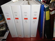 Russia 1942/1991, Tunisia 1923/2011 - one stock book and two folders with supplement.