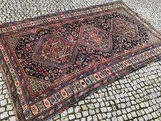Antique Persian Shiraz Hand knotted 300x180 cm with certifikate