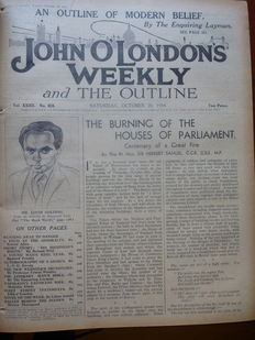 Anon - John O Londons weekly and the Outline - volume 32 - 1934