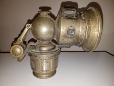 Carbide lamp - Lucas Industries, King of the road lamp,