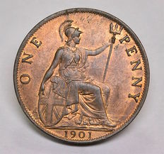United Kingdom - Penny 1901 Victoria