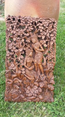 Wood sculpture - Bali - Indonesia