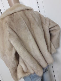 Natural mink fur coat – Women's jacket – Made in Italy