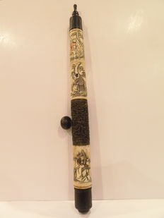 Opium pipe of the 20th century
