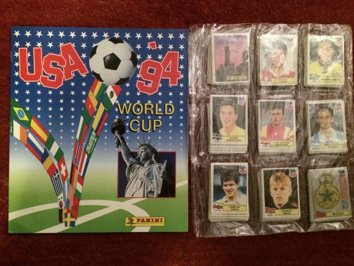 Panini take that tour 94 stickers FULL SET