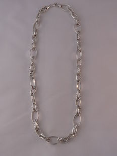 Ladies 925 Silver necklace  Length: 46.5 cm