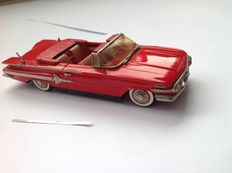 Conquest Models - Scale 1/43 - Chevrolet Impala convertible 1960 - Colour: Roman Red