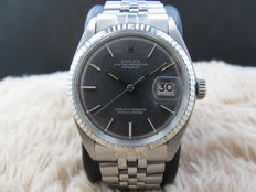 1971 ROLEX DATEJUST 1601 SS WITH ORIGINAL DARK GREY DIAL