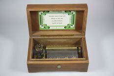 Vintage Music Box Thorens 4.50 Boite a musique, carillon, Spieluhr, 1st half 20th century, Switzerland.
