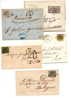 Papal States, 1850-59 – Small lot of letters.