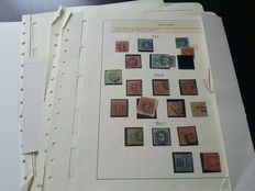 Germany - Composition of various old states in binder.