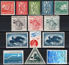 The Netherlands 1921/1966 - eight editions of Airmail