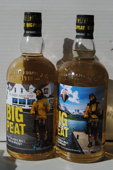 "2 bottles - Big Peat  ""Explorer's"" and ""The Green Welly Shop"" Edition"