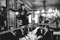 "Arthur Elgort (1940-) - ""Kate Moss at Café Lipp, Vogue Italia"" - Paris - 1993"