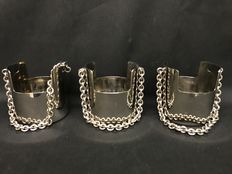 Gucci Italy - buckets with steel chain