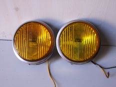 Set of foglights spotlights for classic cars-70's