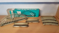Märklin H0 - 7167/7168/7163 - 7 Metal bridge parts