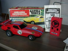 LATRAX CHEVROLET ALPHA RCX RADIO CONTROL 1977-1980 original box !