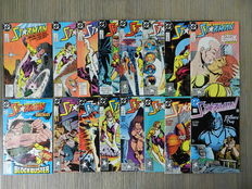 Starman Vol.1 # 1 t/m 45 + Black Lightning Vol.2 # 1 t/m 13 - 2 Complete reeksen - 58x sc - (1988 / 1996)