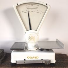 Beautiful Olland type 630 counter scales (1961)