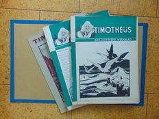 Timotheüs - illustrated weekly magazines - 33 issues - 1940/1941