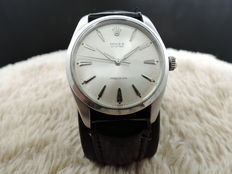 1965 ROLEX OYSTER 6424 ORIGINAL SILVER DIAL (36MM) BIG OYSTER RARE