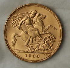 Australia – 1 Sovereign 1930-M, Melbourne – Gold