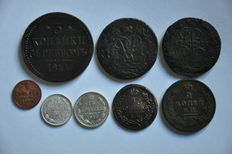 Russia - Lot of 8 coins