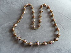 Murano glass beads necklace