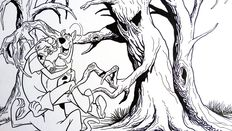 DeCarlo, Mike - Original art - Scooby Doo and Shaggy - (2013)