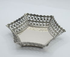 Designer  silver dish , international hallmarked 900