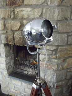 Strand Patt – Type 123 vintage stage lamp with tripod