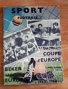 Precursor of Panini - Sport Football - Cup of Europe 1962/1963 - Complete album.