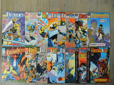 DC Comics: Checkmate! Vol.1 # 1 - 33 + Peacemaker # 1 - 4 + The Monolith # 1 - 12 + Enginehead # 1 - 6 - 55x sc - (1988 / 2005)