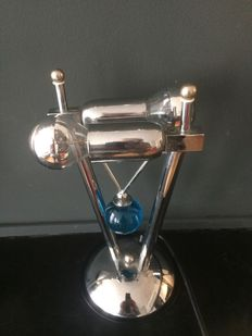 Unknown designer - chrome table/desk lamp