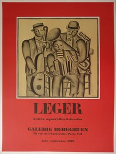 Fernand Léger (after) - Les Musiciens