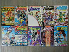The Avengers Vol.1  22 nrs. + 5 Annuals + The Kree-Skrull War # 1 + Fantaco Chronicles # 4: The history of the Avengers - 29x sc - (1970 / 1987)